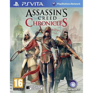 JEU PS VITA Assassin's Creed Chronicles Trilogie Jeu PS Vita
