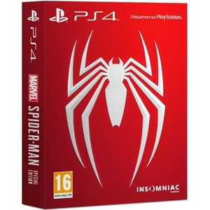 JEU PS4 Marvel's Spider-Man - Édition Spéciale - Jeu Ps4