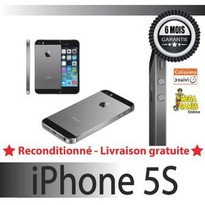 SMARTPHONE IPHONE 5S 16GB GRIS SIDERAL APPLE