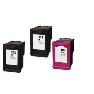 CARTOUCHE IMPRIMANTE 3 Compatible Encre Cartouche pour HP 302 XL Deskje