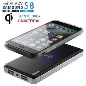CHARGEUR TÉLÉPHONE Ultrathin 8000mAh Banque Portable Power Qi Chargeu