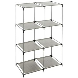 etagere 8 cases achat vente etagere 8 cases pas cher soldes cdiscount. Black Bedroom Furniture Sets. Home Design Ideas