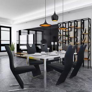 TECTAKE Design Rembourrées de 4 Salle Chaises à Manger Rj5LS34cAq