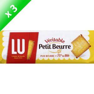 BISCUIT AUX FRUITS [LOT DE 3] Véritable Petit Beurre 400g