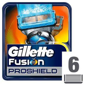 RASOIR MÉCANIQUE GILLETTE Lames Fusion ProShield Chill (pack de 6 l