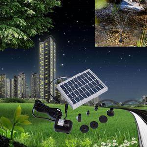 FONTAINE DE JARDIN fontaines puissance Panneau solaire pompe à eau dé