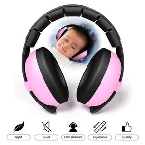 CASQUE ENFANT Casque Anti-Bruit Pour Bébé Rose