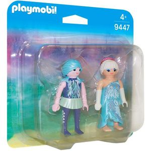 FIGURINE - PERSONNAGE PLAYMOBIL 9447 - Fairies - Fées de l'Hiver - Nouve