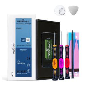 Batterie téléphone Batterie pour iPhone 5 (1440mAh) - Trop Saint® Kit