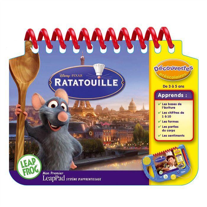 LIVRE INTERACTIF ENFANT Leapfrog MPLP Ratatouille