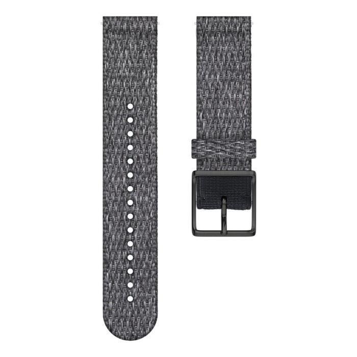 POLAR Bracelet interchangeable IGNITE Noir chiné M/L