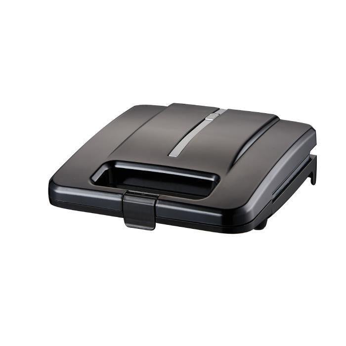 Grille-pain sandwich, grille-pain, grille-pain portable, avec voyants lumineux, noir