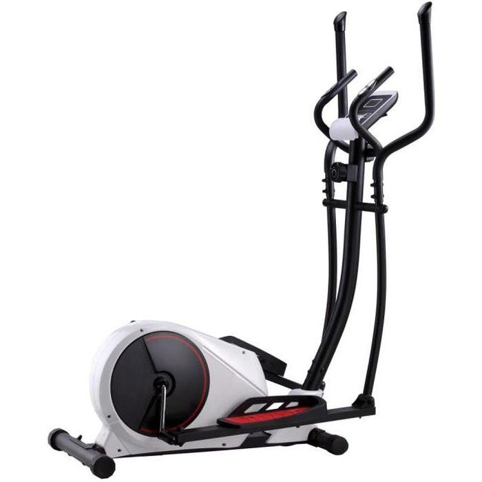 Vélo elliptique magnétique avec mesure du pouls HB91908 -ROE
