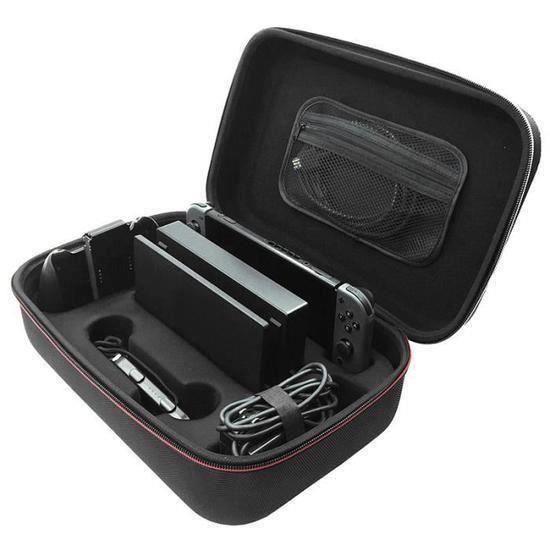 Etui de rangement Pour Nintendo Switch Console et Accessoires Noir