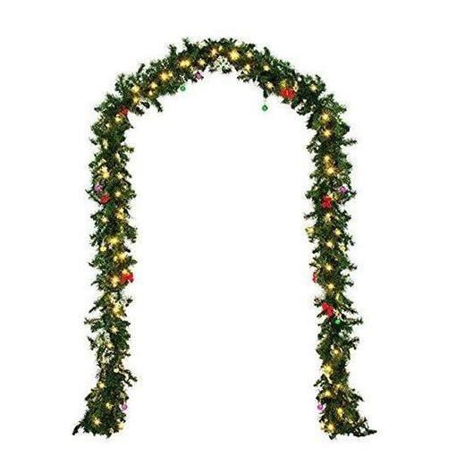 Imitation Sapin -Guirlande Lumineuse 100 LED - 2,7m - Décoration Noel