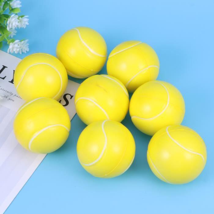 8pcs PU Mousse de Tennis Balle Squeeze Mini Sports Balls Jouet Enfants Jeux jeu d'adresse jeux de recre - jeux d'exterieur