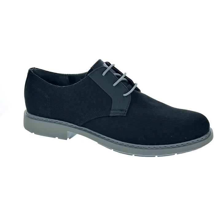 Chaussures à lacets - Camper Mil Homme Noir