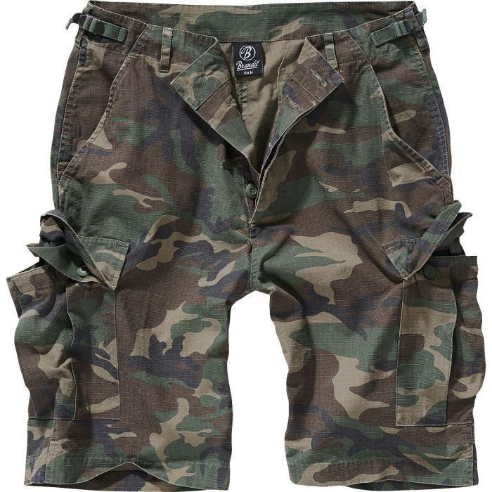 Brandit Short BDU Ripstop Short camouflage forêt