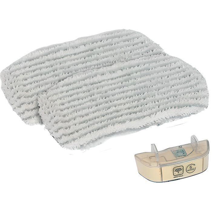Kit lingette avec cartouche anti-calcaire - Nettoyeur vapeur - ROWENTA (45684)