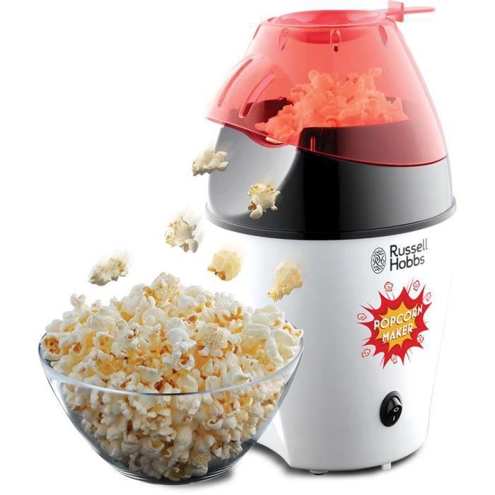 Russell Hobbs 24630-56 Machine à Popcorn 1200W Fiesta, Utilisation Sans Huile