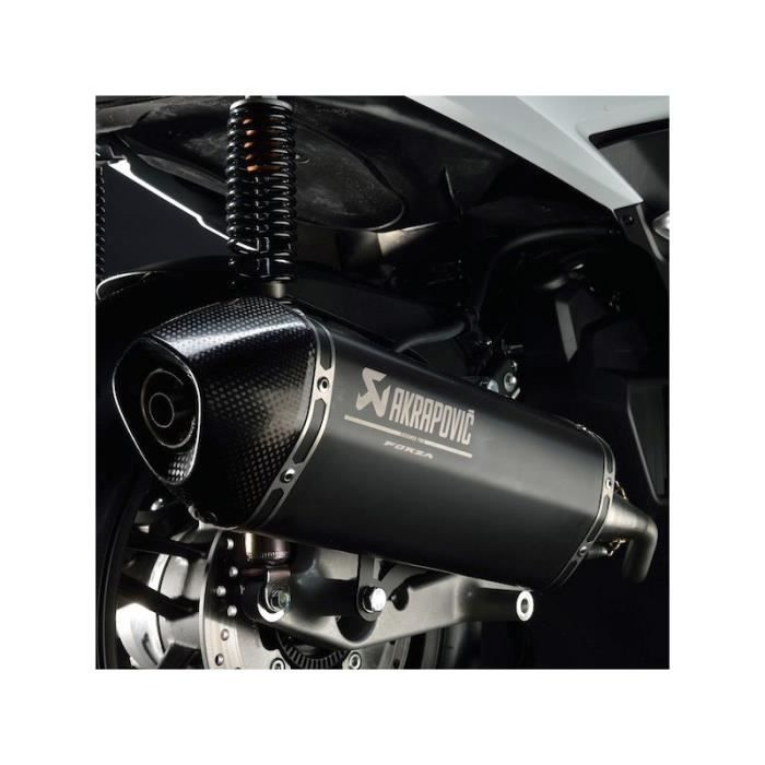 silencieux akrapovic honda forza 125 2015 achat vente silencieux pour pot silencieux. Black Bedroom Furniture Sets. Home Design Ideas