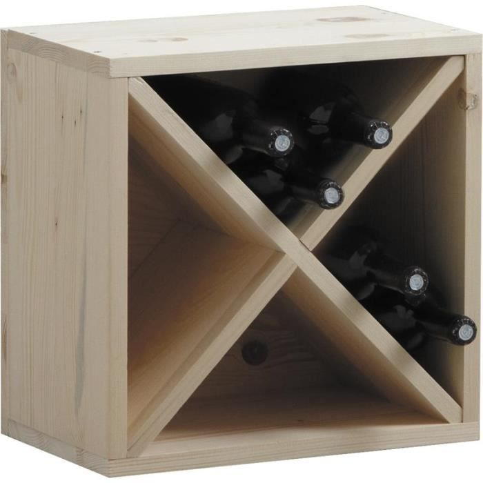 casier de rangement bouteilles vin en bois achat. Black Bedroom Furniture Sets. Home Design Ideas