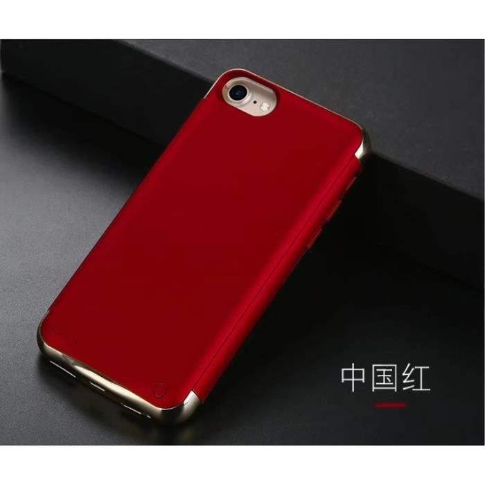 coque batterie iphone 8 rouge
