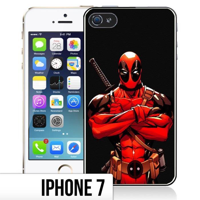 Coque iPhone 7 Deadpool - BD