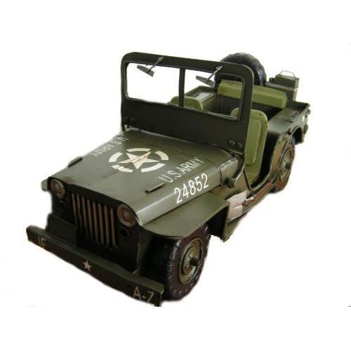 jeep miniature willys us army 2eme guerre mondi achat vente voiture construire cdiscount. Black Bedroom Furniture Sets. Home Design Ideas