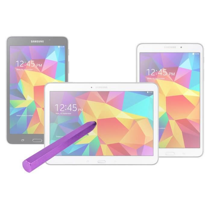 stylet crayon violet pour samsung galaxy tab 4 prix pas. Black Bedroom Furniture Sets. Home Design Ideas