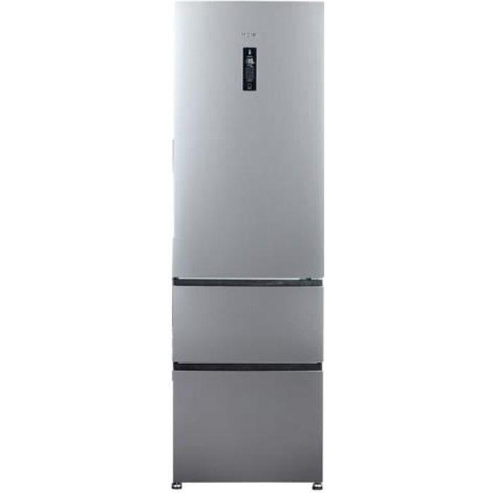 RÉFRIGÉRATEUR CLASSIQUE Haier A3FE635CGJE - Réfrigérateur-congélateur - po