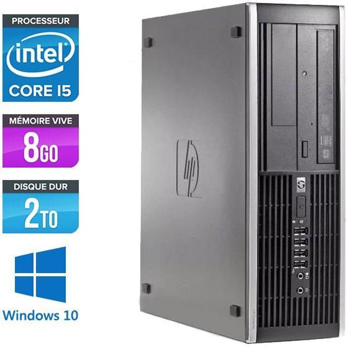 ORDI BUREAU RECONDITIONNÉ HP Elite 8200 - i5 - 8Go -HDD 2 To -Windows 10 - U