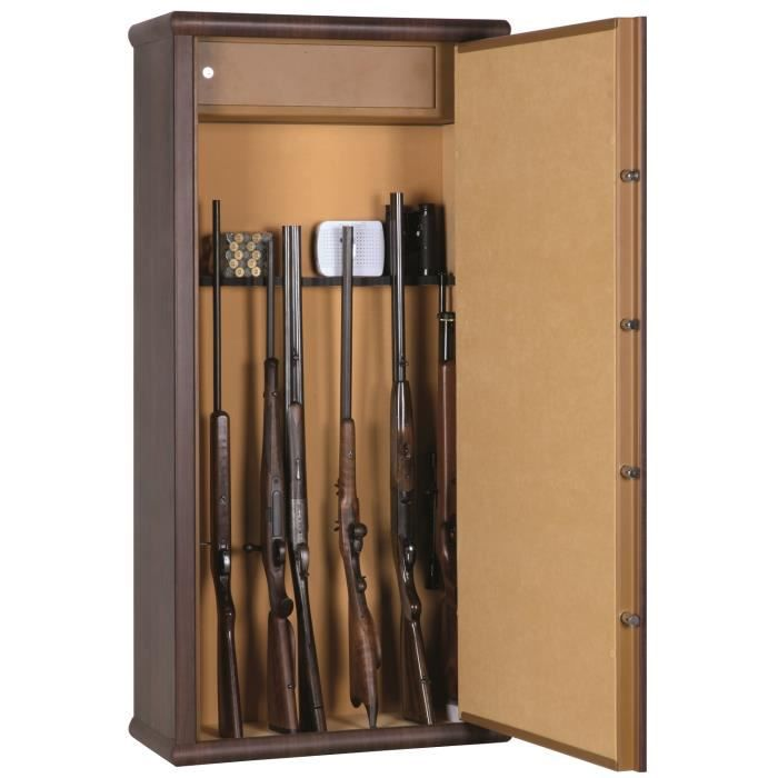 armoire forte wood look 12 armes achat vente armoire fusil cdiscount. Black Bedroom Furniture Sets. Home Design Ideas