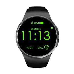 MONTRE CONNECTÉE Bluetooth Montre Connectée Smartwatch Phone KW18 S