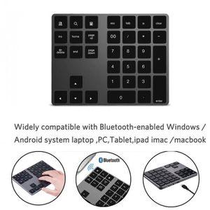 CLAVIER D'ORDINATEUR Sans fil Bluetooth 34 Touches numériques clavier n