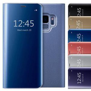 HOUSSE - ÉTUI Coque Samsung gxlaxy S9 Plus Etui à rabat Clear Vi