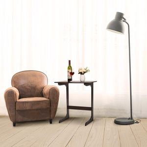 TABLE D'APPOINT Mini Table D'Appoint En Bois De Bambou - Ordinateu