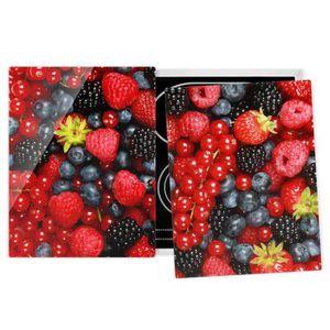 PLAQUE INDUCTION Couvre plaque de cuisson - Fruity Berries - 52x80c
