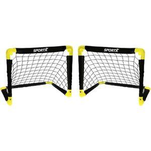 CAGE DE FOOTBALL SportX 2 pcs Cages de but pliables 55 x 44 x 44 cm