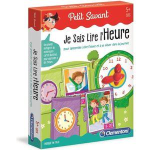JEU D'APPRENTISSAGE CLEMENTONI Petit Savant - Je sais lire l'heure