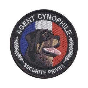 Badge 25mm Bouton Epinglette Ecusson S/écurit/é Intervention France Tricolore Agent de S/écurit/é Vigile