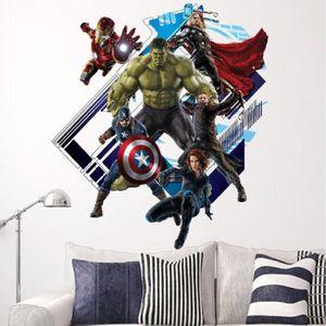PAPIER PEINT  Le papier peint Décoration Murale Avengers Hulk S