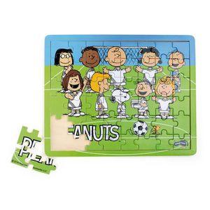 PUZZLE Puzzle en Bois Snoopy et les Peanuts Football,48 p