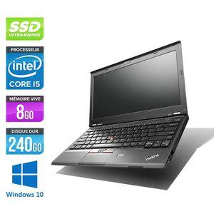 Top achat PC Portable Pc portable Lenovo X230 - i5 - 8Go - 240 Go SSD - 12,5'' - W10 pas cher