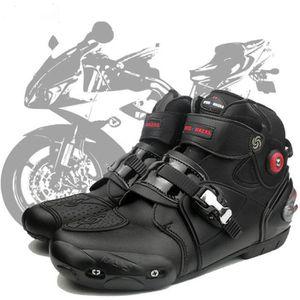 CHAUSSURE - BOTTE Chaussures de course de moto Chaussures de course