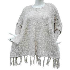 Haut maille grande taille 50//52//54//56//58//60 tunique ample chaud hiver FA32009