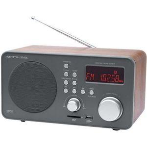 Radio réveil Muse - M-080 R - Radio Réveils