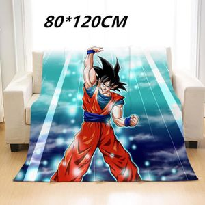 COUVERTURE - PLAID 80*120 Dragon Ball Son Goku Vegeta Couverture de f