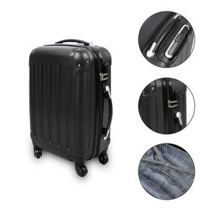 valise a roulette rigide achat vente valise a roulette rigide pas cher soldes cdiscount. Black Bedroom Furniture Sets. Home Design Ideas