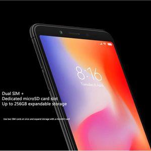 SMARTPHONE Xiaomi Redmi 6 3Go+64Go Noir